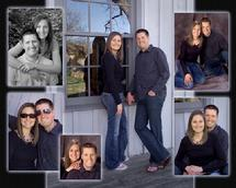Engagement Portrait-Anna and Travis Composite Layout