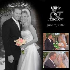 Carly and Andrew Wedding-Click to see Pages
