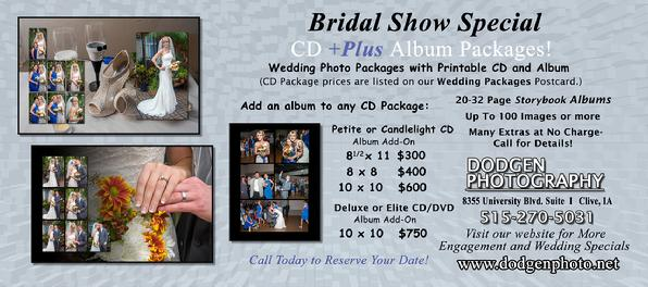 Weddings in Des Moines IA New Specials